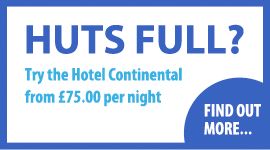 Rooms from £75 per night at the Hotel Continental